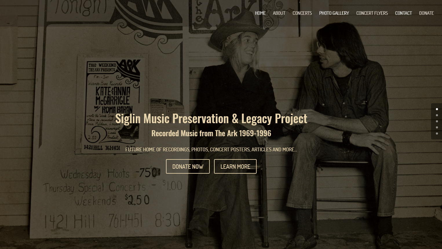 Home - Siglin Music Preservation & Legacy Project